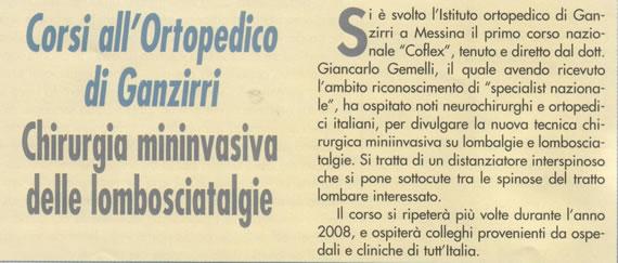Messina Medica, settembre/ottobre 2007