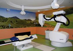 Sala di trattamento CyberKnife® presso la Casa di Cura Ulivella di Firenze