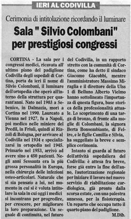 Il Gazzettino, 13 dicembre 2006