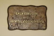 "targa ""Prof. Silvio Colombani"""