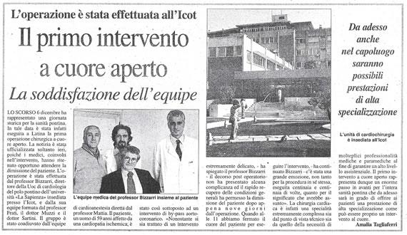 Latina Oggi, 16 dicembre 2006