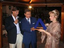 Il Dott. Emmanuel Miraglia, l'Avv. Rosalba Padroni ed il Dott. Fabio Miraglia