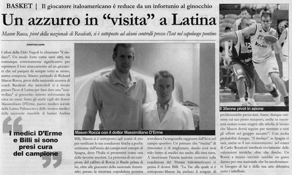 Il Territorio, 10 agosto 2007