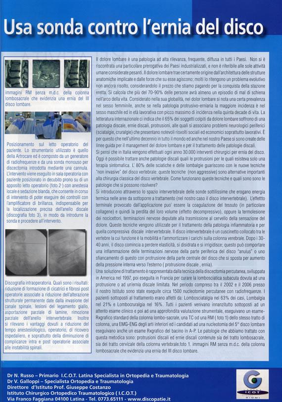 articolo Blu Magazine