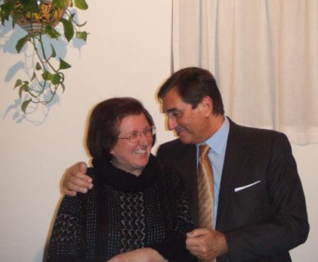 Adele Benazzato con il Dott. Emmanuel Miraglia