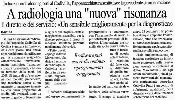 Il Gazzettino, 29 maggio 2009
