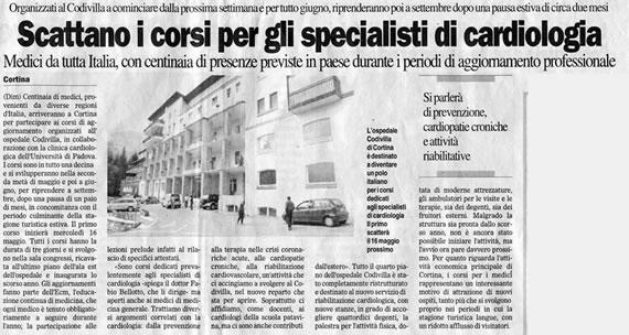 Il Gazzettino, 12 maggio 2007